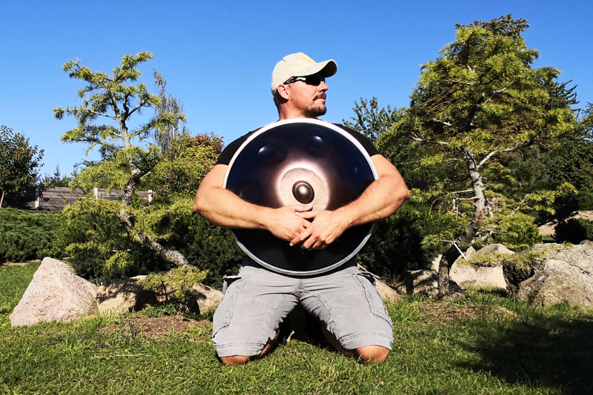 Jiří Káš - Czech handpan player
